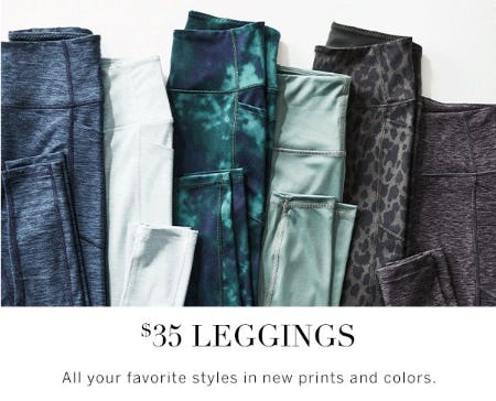 $35 Leggings from Victoria's Secret