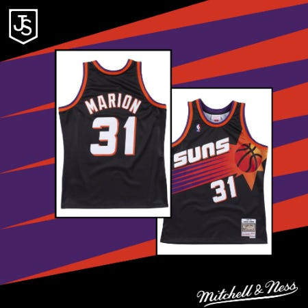 Shawn Marion Jerseys are Here