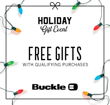 Holiday Gift Event from Buckle