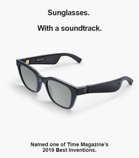 Bose Frames: An Audio Experience Like No Other