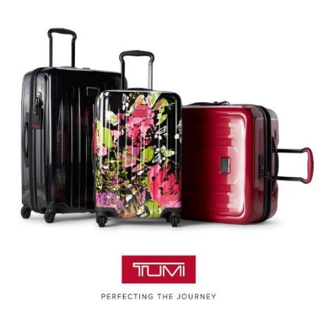 The TUMI V4 Collection