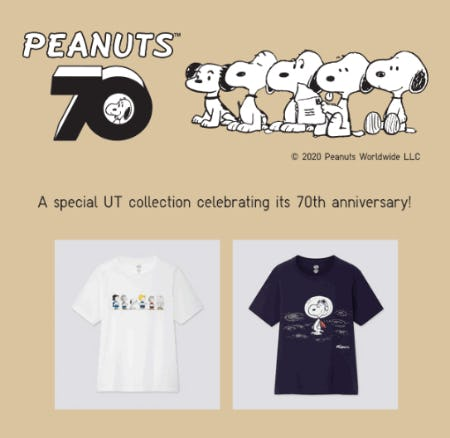 The Peanuts Collection from Uniqlo