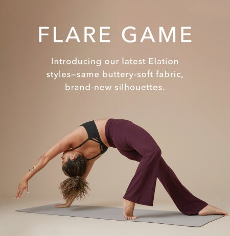 Flare Game from Athleta
