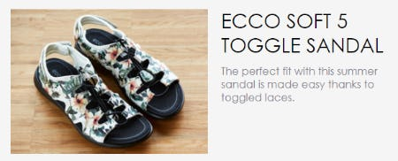 ECCO Soft 5 Toggle Sandal from ECCO
