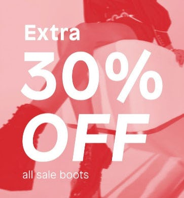 Extra 30% Off All Sale Boots from ALDO