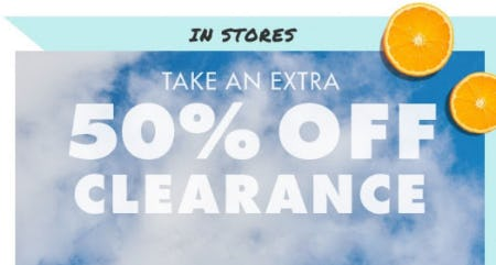 Extra 50% Off Clearance from Justice