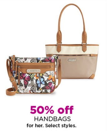 50% Off Handbags from Kohl's