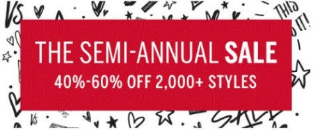 The Semi-Annual Sale from Victoria's Secret