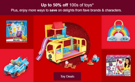 Up to 50% Off 100s of Toys