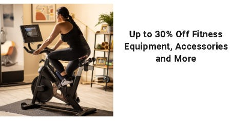 Up to 30% Off Fitness Equipment, Accessories and More from Dick's Sporting Goods