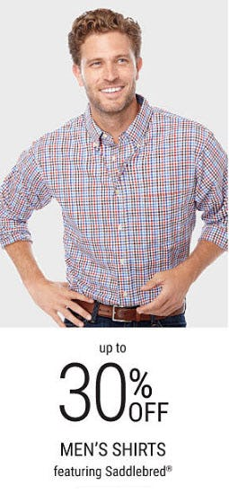 Up to 30% Off Men's Shirts