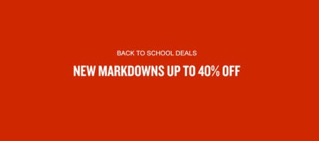 New Markdowns Up to 40% Off from JD Sports