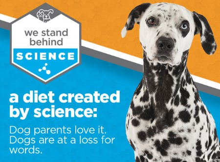 Science Diet from Petco