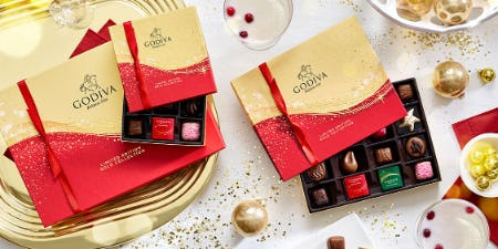 FRIENDS & FAMILY SALE @GODIVA from Godiva Chocolatier
