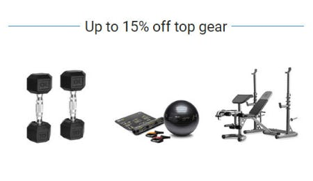 Up to 15% Off Top Gear