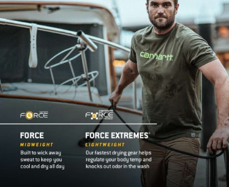 Carhartt Force® and Force Extremes® from Carhartt
