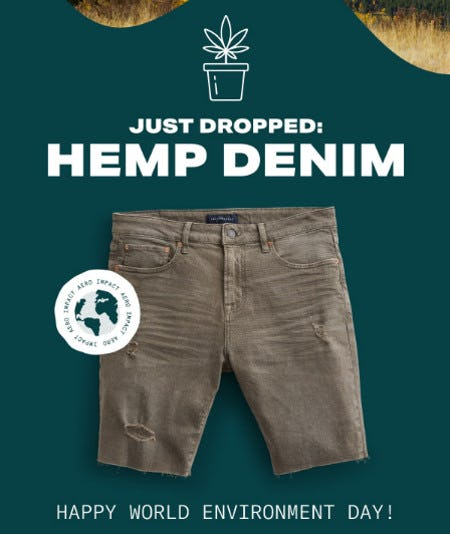 Just Dropped: Hemp Denim from Aéropostale