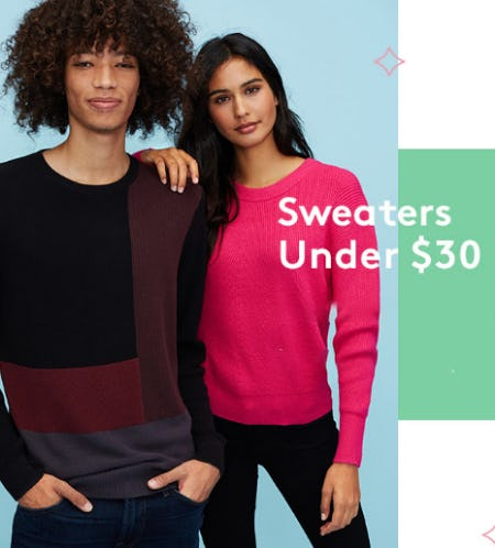 Sweaters Under $30 from Nordstrom Rack