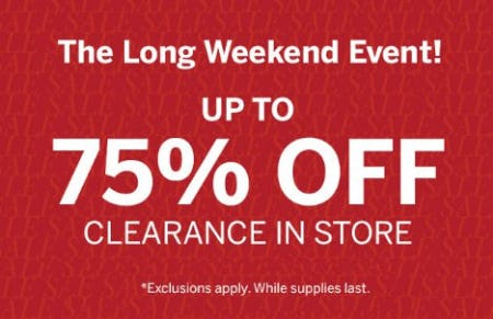 Up to 75% Off Clearance from Dressbarn