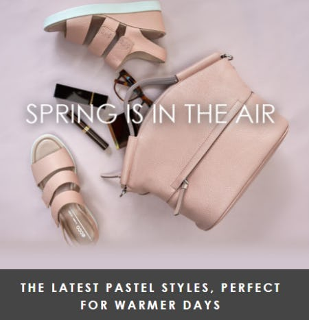 Must-Have Spring Styles from ECCO