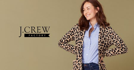 40% - 70% OFF STOREWIDE! from J.Crew Factory