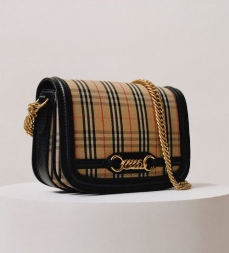 Introducing the Link Bag from Burberry