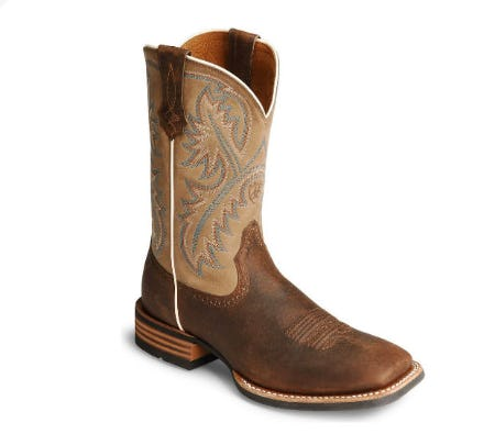 Ariat Men's Quickdraw Western Boots from Boot Barn Western And Work Wear