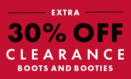 Extra 30% Off Clearance Boots and Booties from DSW Shoes
