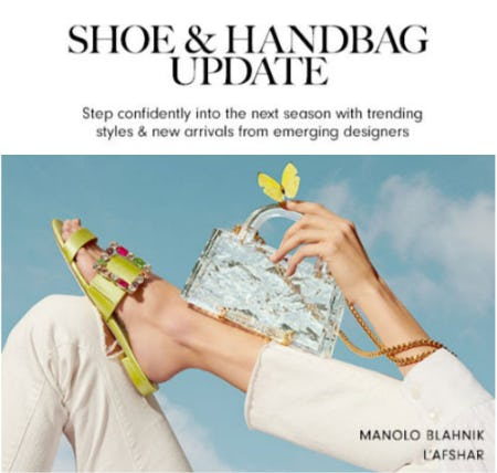 Shoe & Handbag Update from Neiman Marcus