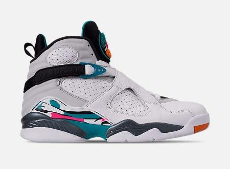Men's Air Jordan Retro 8 Basketball Shoes from Finish Line