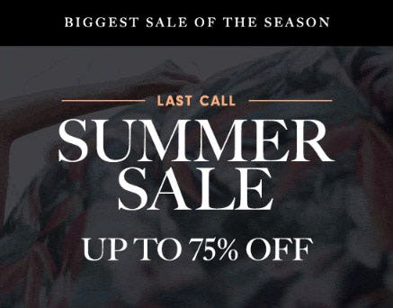 Up to 75% Off Summer Sale from Neiman Marcus