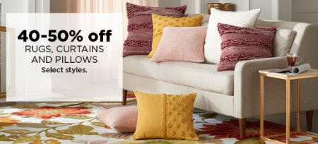 40-50% Off Rugs & More from Kohl's