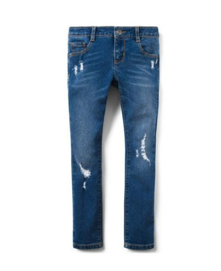 Destructed Skinny Jeans from Crazy 8