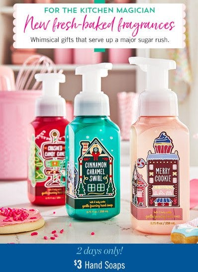 $3 Hand Soaps from Bath & Body Works