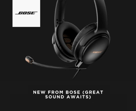 Meet the Next Evolution of Bose Sound from Hugo Boss