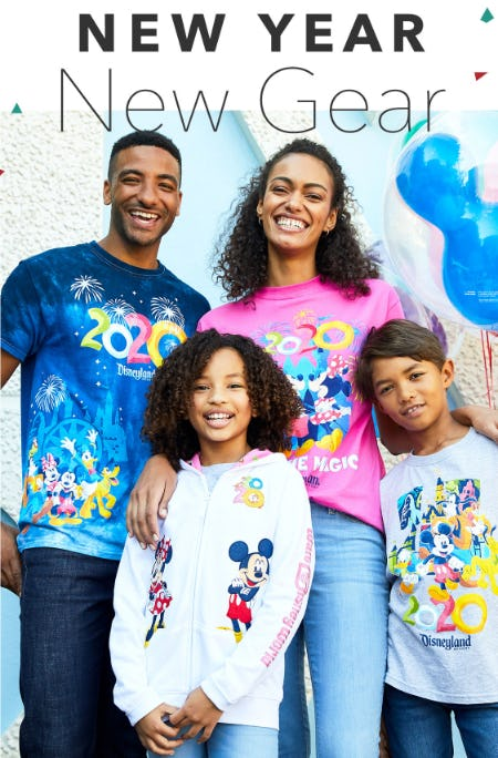 New Year, New Gear from Disney Store