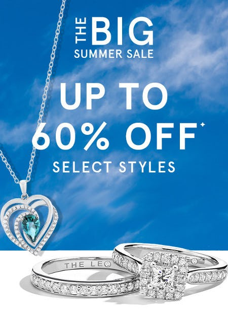 The Big Summer Sale: Up to 60% Off Select Styles