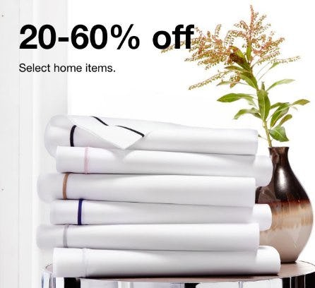 20-60% Off Select Home Items