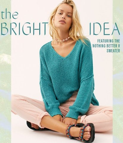 It's a Whole New Hue from Free People
