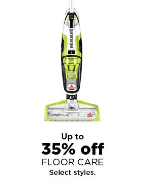 Up to 35% Off Floor Care from Kohl's