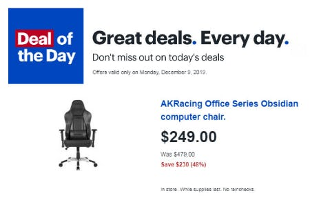 Deal of the Day from Best Buy