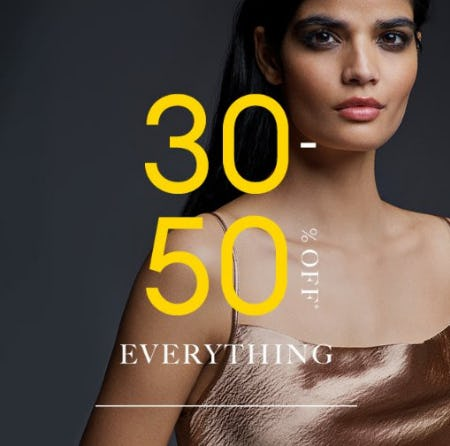 30-50% Off Everything from Banana Republic