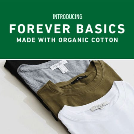 Introducing Forever Basics from Forever 21