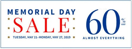 Memorial Day Sale up to 60% Off Almost Everything from Jos. A. Bank