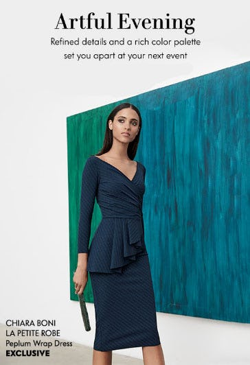 Pretty as a Peacock: Cocktail Dresses from Neiman Marcus