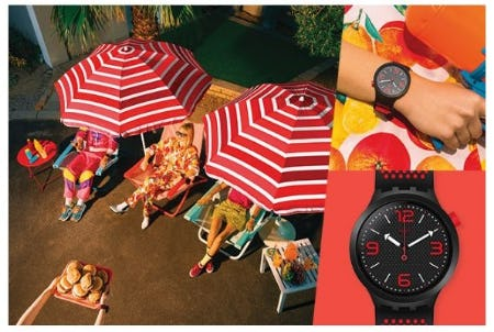 Endless Summer Styles from Swatch