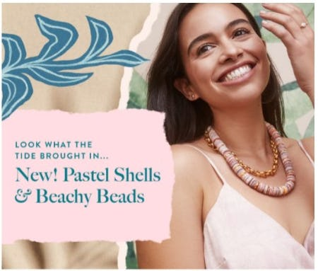 Trending Now: Shells, Pastels, and Pearls