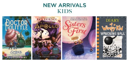 New Arrivals for Kids from Books-A-Million