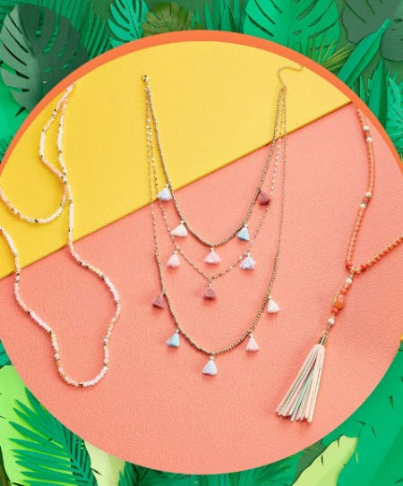 Women's Layered Necklaces from Versona