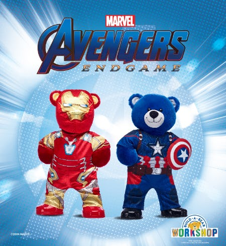 Assemble Your Own Team of Heroes at Build-A-Bear! from Build-A-Bear Workshop